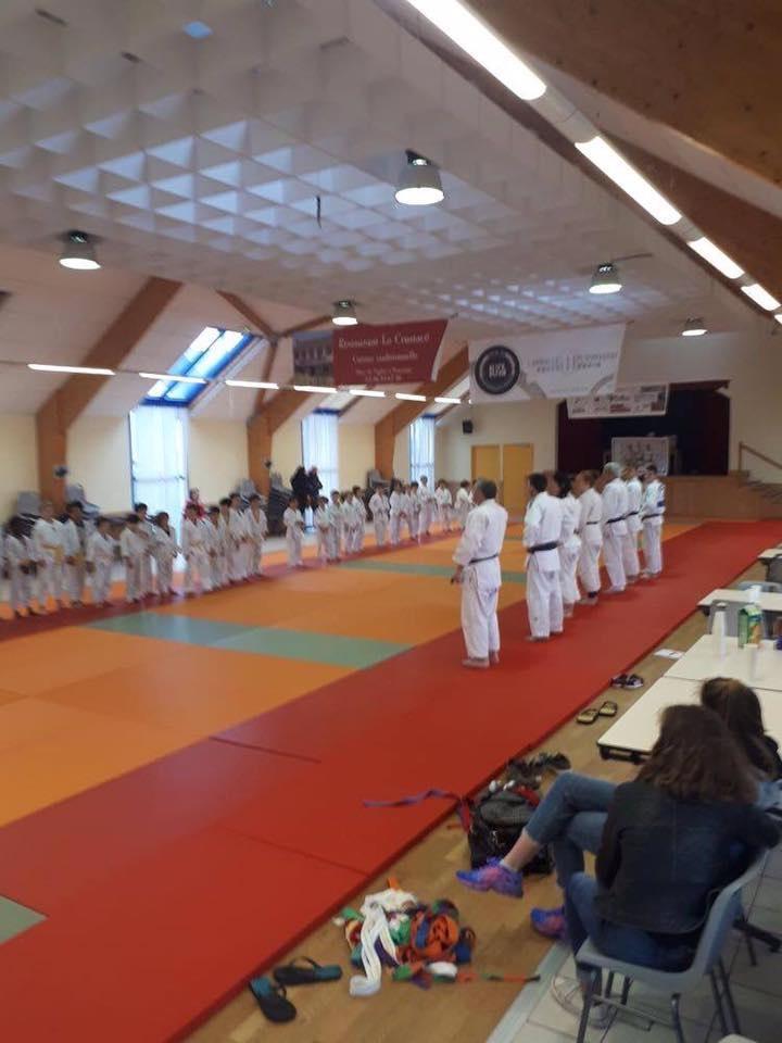 Joli week-end pour une cinquantaine de judokas à Trévou