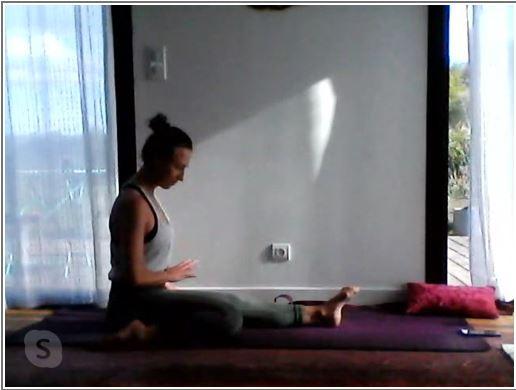 Des Cours de Pilates et de Yoga en Ligne pendant le confinement  avec Violette enseignante à Trévou!