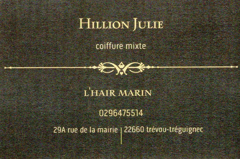 """Julie du salon """"hair Marin"""" de Trévou a rouvert le lundi 11 mai, sur RV"""