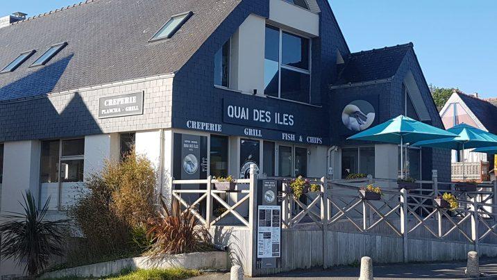 """Le """"Quai des îles"""" de Trestel en Trévou-Tréguignec est  ouvert tous les jours sauf le mercredi"""