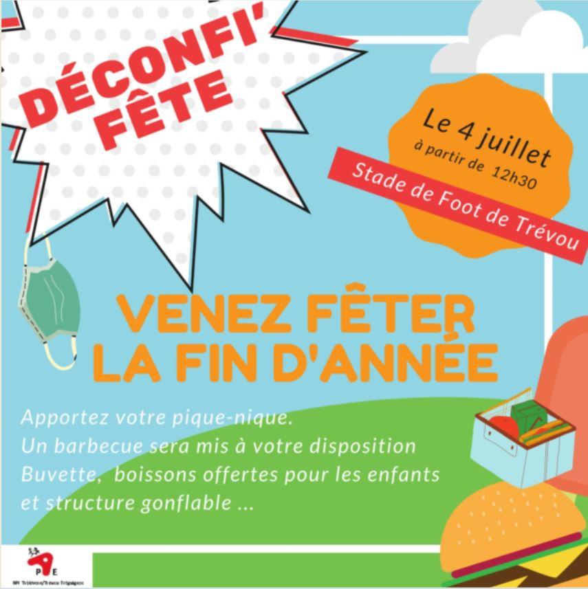 Écoles publiques du RPI : Cette année, pas de kermesse, mais une Déconfi'Fête !!!