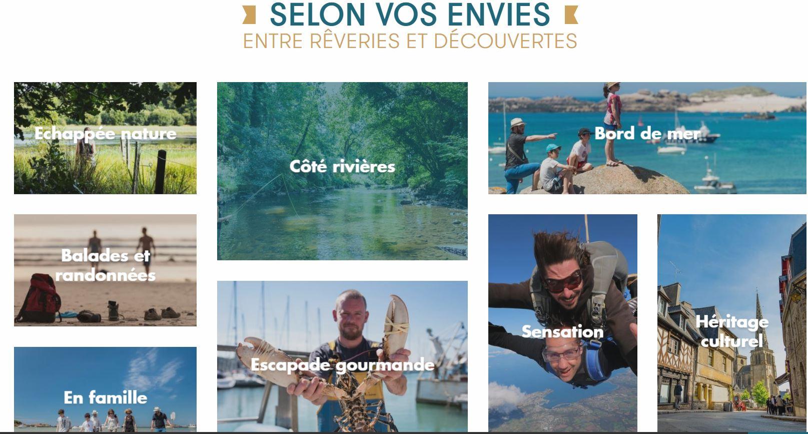 L'office de Tourisme Bretagne Côte de Granit Rose présente son nouveau site…