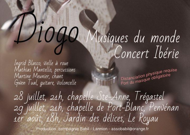 Concert d'Ingrid au Royau au Jardin des Délices des Délires le 1er août à 18h