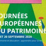 Les Journées Européennes (19 et 20 septembre)  se préparent dès à présent… Programme à transmettre … lien utile…