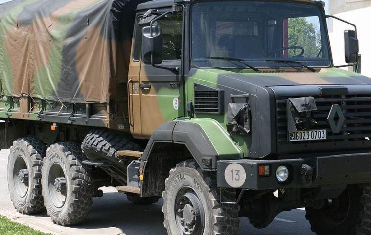 Exercice militaire  dans le secteur du BoisRiou  mardi 25 août.