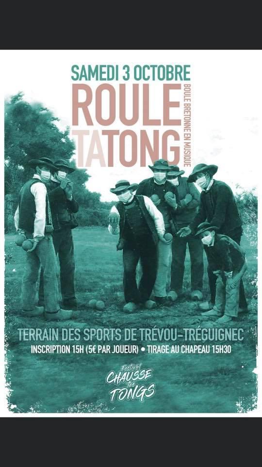 Boule bretonne en musique au stade de Trévou-Tréguignec, samedi 3  octobre à 15h avec l'association Chausse Tes Tongs
