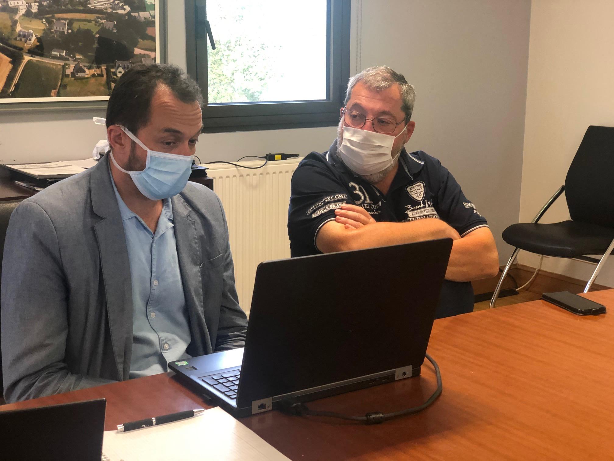 Bientôt un logiciel pour gérer, réserver les salles et  suivre les travaux à effectuer à Trévou-Tréguignec
