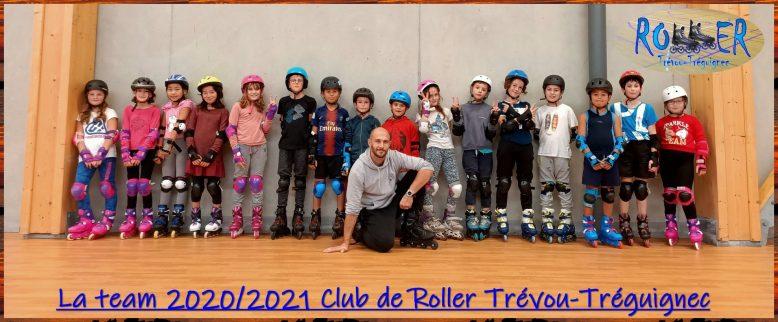 Des cours de Roller pour les enfants de 8 à 14 ans à Trévou. Une affaire qui roule… (cours complet)