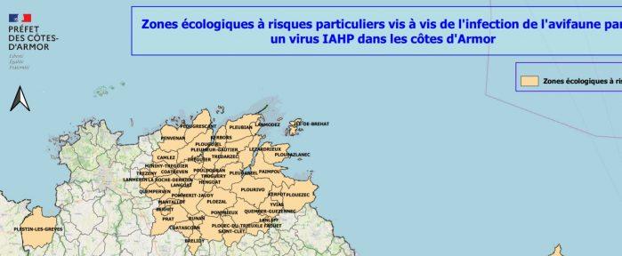 Renforcement des mesures  contre la ré-émergence de l'influenza aviaire dans les Côtes d'Armor
