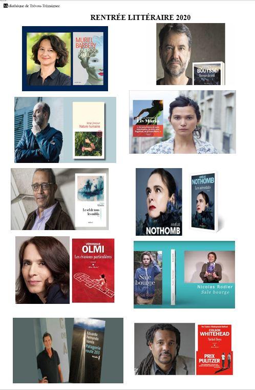 La Médiathèque de Trévou a acheté quelques livres de la rentrée littéraire