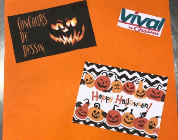 Halloween, c'est très bientôt… Votre supérette Vival propose un concours de dessin jusqu'au 29 octobre
