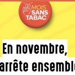 Le Mois Sans Tabac c'est en novembre… c'est le moment de se préparer… quelques chiffres édifiants …