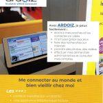 La Poste propose une démonstration d'utilisation d'une tablette, mardi matin à l'APC de Trévou