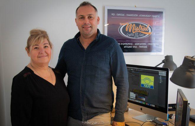 Une agence de comm', création de sites internet à Trévou : Mistral Graffik