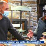 """Éric Poilpot relieur à Tréguier, trévousien, à l'honneur dans """"Météo à la Carte"""" sur France 3"""