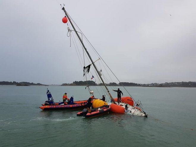 SNSM : Fin d'année mouvementée pour les sauveteurs en mer de Trestel