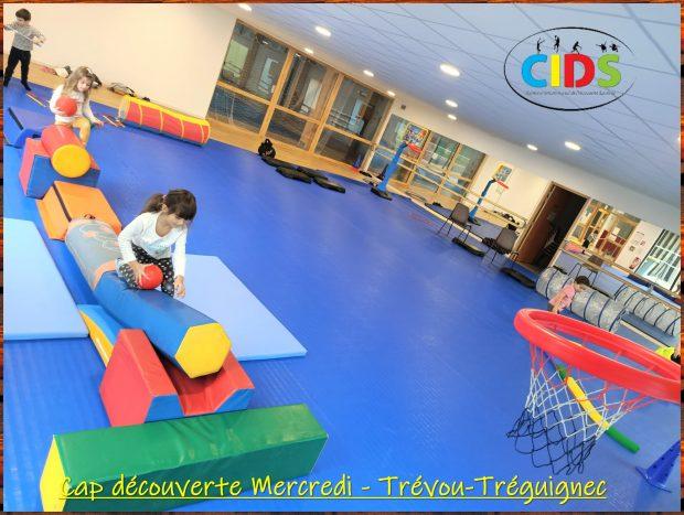 Les activités sportives ont repris pour les enfants. Cap Sport, Cap découverte et Roller mercredi 17/12 àTrévou-Tréguignec