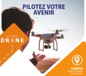 Centre de formation Drone en application sur la commune de Trévou-Tréguignec fin décembre