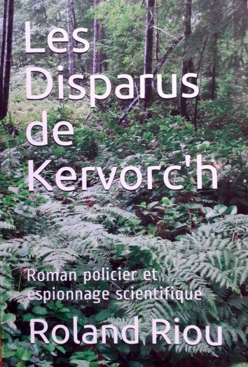 Un roman policier de Roland Riou entre Kermoroc'h et Trévou-Tréguignec, à vendre au Dauffy au bourg