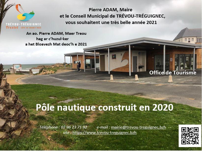 Discours de Pierre Adam Maire de Trévou-Tréguignec qui a présenté ses voeux à la population samedi 23 janvier avec pour seul public son conseil municipal. .