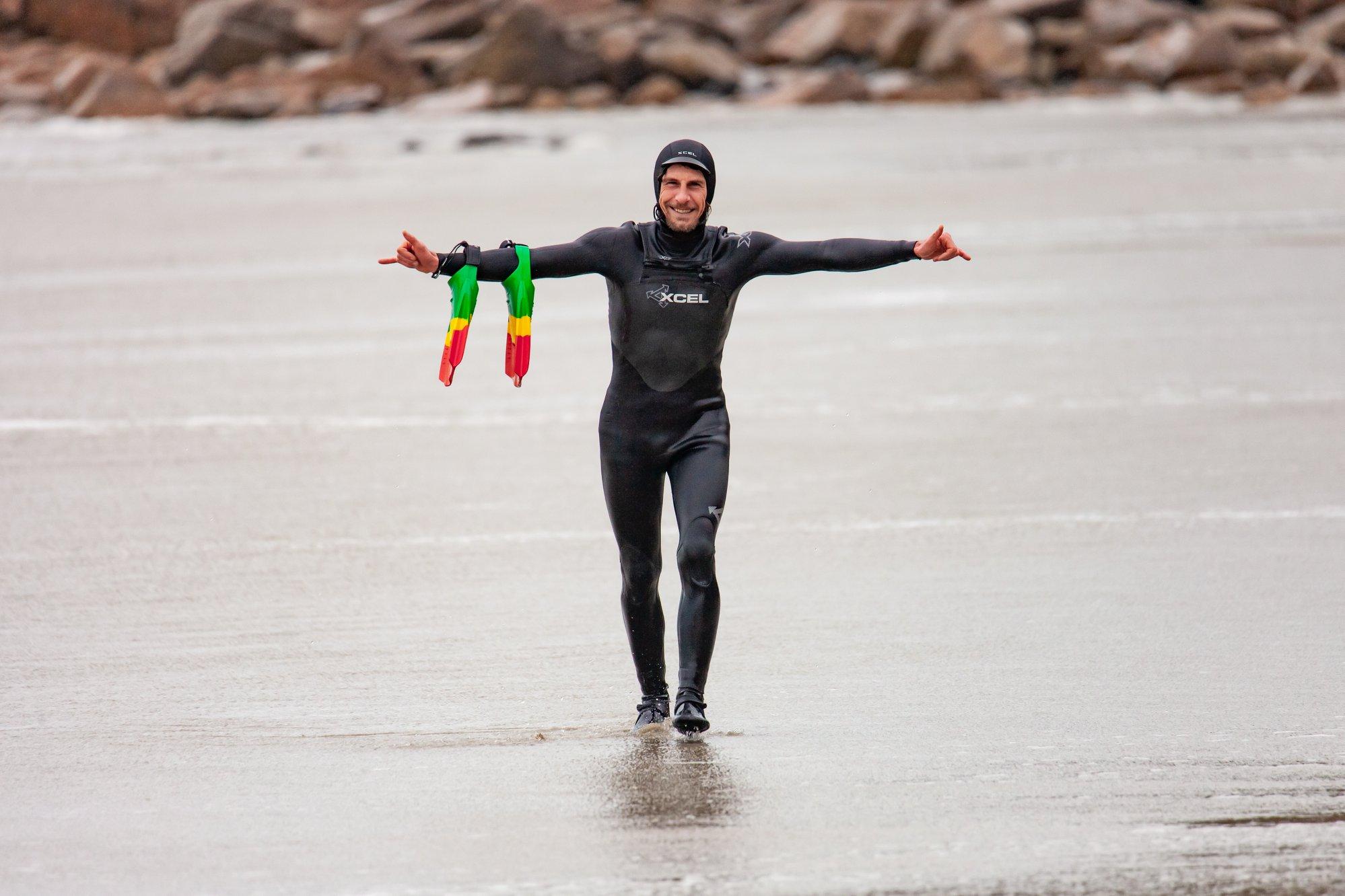 Des cours de  surf à Trestel du 12 au 25 avril  avec Thomas.