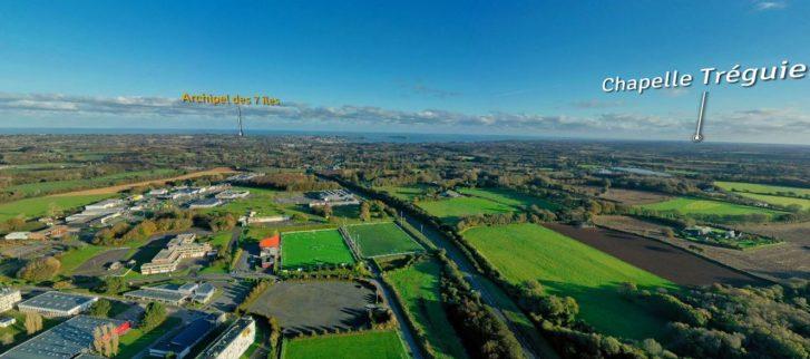 À la découverte par drone et au sol des grands projets portés par Lannion-Trégor-Communauté (LTC)