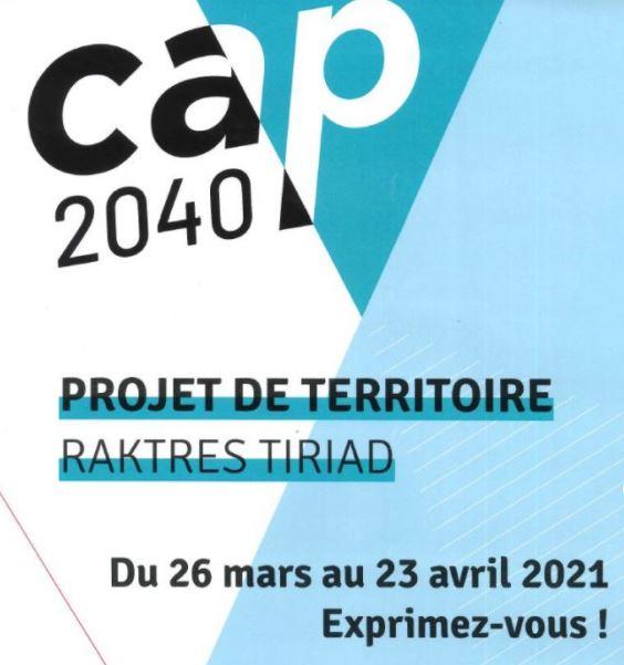 """Le projet de territoire """"Cap 2040"""" :  Lannion-Trégor-Communauté vous donne la parole… un registre à la mairie de Trévou-Tréguignec"""