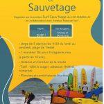 L'activité Surf Sauv'Nage se pratiquera  à Trestel en Trévou pendant les vacances de Pâques du 12 au 16/04 et du 19 au 24 avril