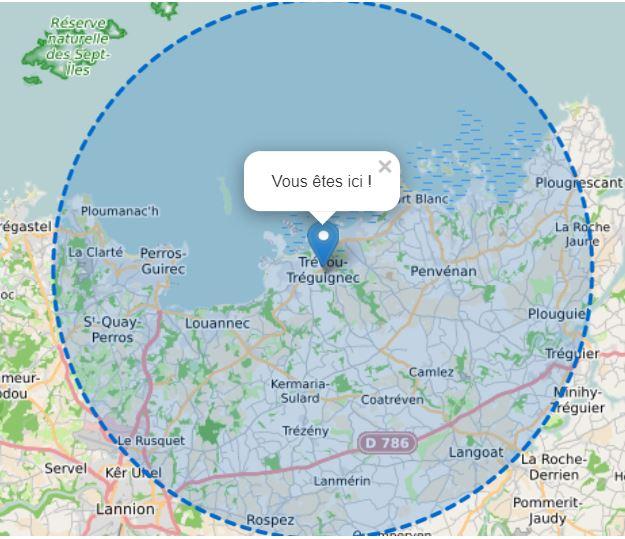 Confinement :  j'habite Trévou-Tréguignec .. jusqu'où puis-je aller ?  Nouvelle attestation à télécharger ici.