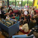Un atelier lecture pour les enfants des écoles de Trévou le jeudi après-midi (photos des ateliers successifs)