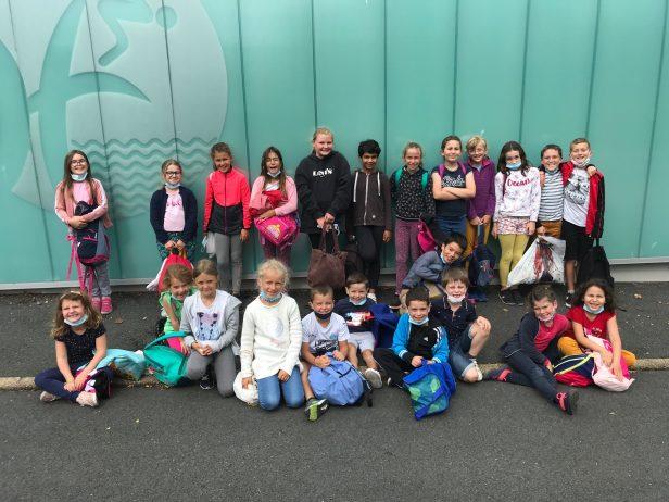 École Saint Michel de Trévou-Tréguignec : 10 séances de piscine en ce début d'année scolaire