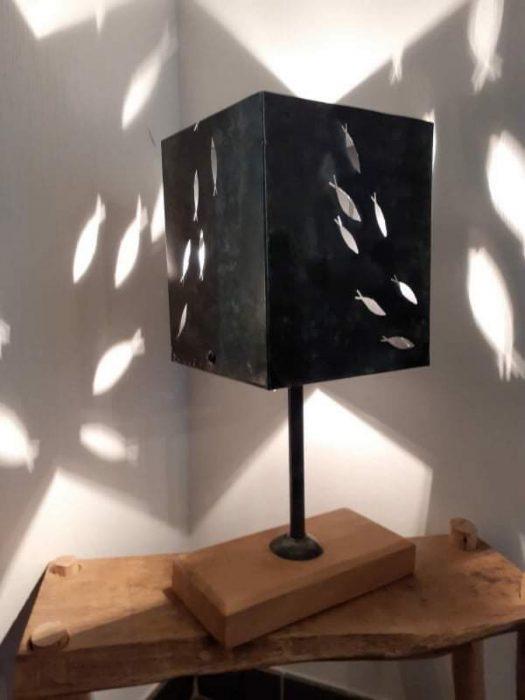 À découvrir : des lampes fabriquées à Trévou…